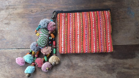 Ethnic Vintage  purses wallet Handmade ethnic Bohemian purse, from-Thailand