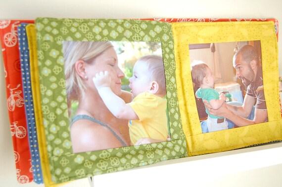 Custom Fabric Photo Book for Children