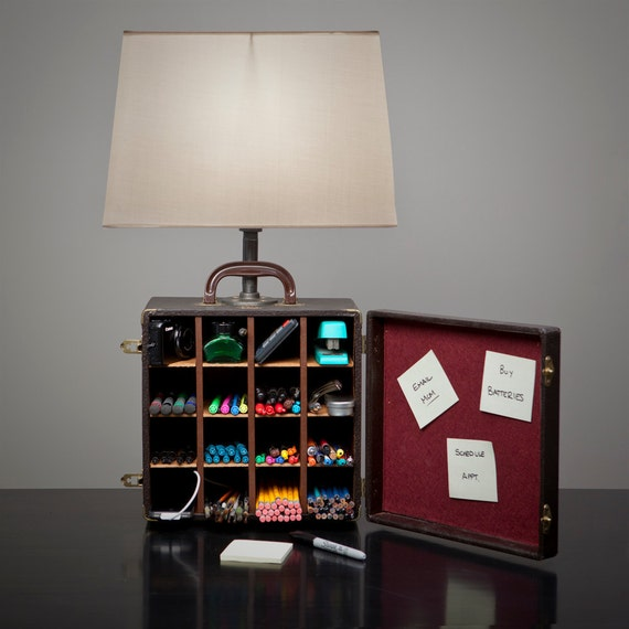 A Box Lamp has your Storage & Organization Needs Covered