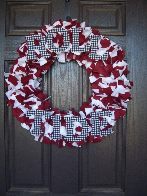 """16"""" Roll Tide Wreath"""