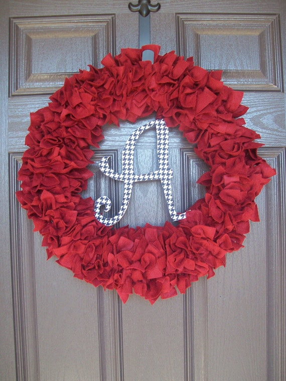 Crimson Alabama Wreath