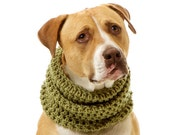 XL Rowdy Dog Cowl, Scarf, Neck Warmer - Shown in Springtime Green - Available in Over 30 Colors