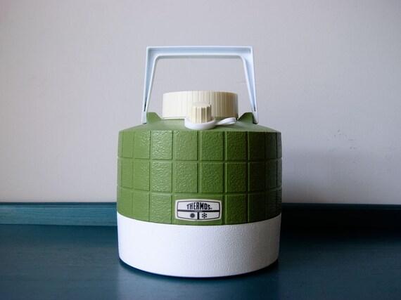 Cooler Jug - Vintage 1970s - Thermos Cooler Canister
