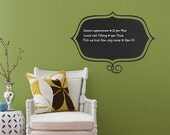 Stylish Memo - Chalkboard Decals - by Simple Shapes