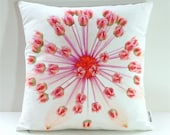 Garden Flowers Pillow Cover: Astrantia Major