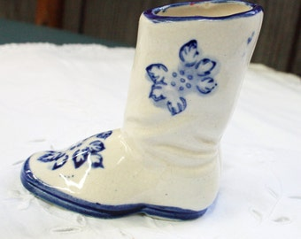 Porcelain Boot, Made In Occupied Japan