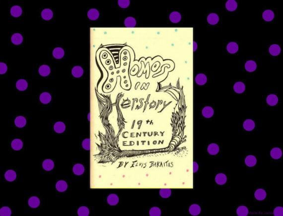 Homos in Herstory: 19th Century Edition (Comics Zine)