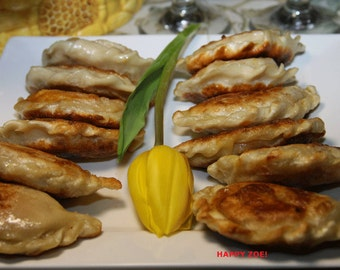 Vegan Sweet Yum pierogies, love,natural and healthy ingredients, birhtday,wedding.