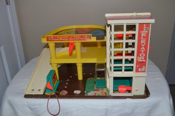 Garage Fisher Price Vintage eBay