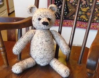 Teddy Bear - Handmade Crochet Stuffed Animal