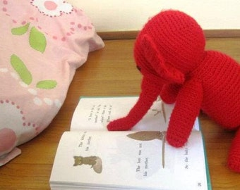 Handmade Crochet Stuffed Animal - Elephant