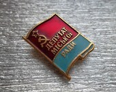 "very Rare soviet pin badge sign ""The Local Council  deputy ""  communism Lenin party propaganda - 100 % original"