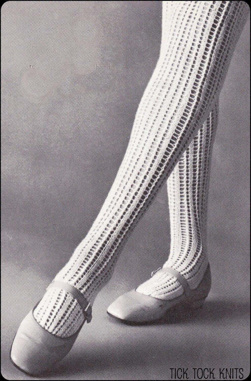 No.194 PDF Vintage Knitting Pattern Womens Thigh High