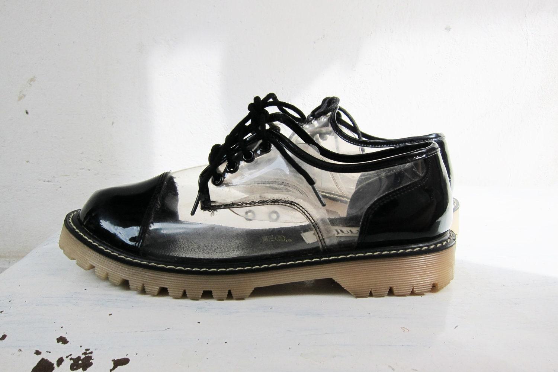 JULIANOS Vintage Clear Dr.Martens Shoes By GaletaVintage