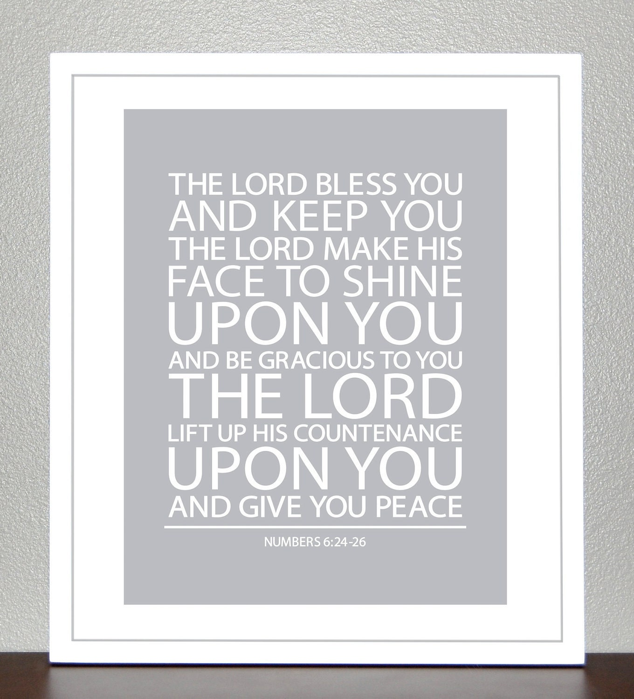 Baby Gift God Bible Verse : Baptism gift bible verse numbers print
