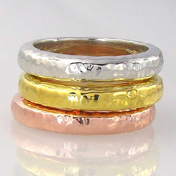14K yellow, pink or white gold solid gold wedding band ring, MADE TO Order, your ring size, unisex, free shipping