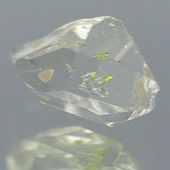 Herkimer Diamond 5.03cts - Museum Quality - Rare Powerful Crystal - Visible Moving Enhydro Bubbles