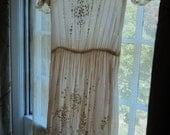 1940s Lace Parfait Featherweight Garden Party Dress