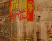 Vintage Soda Glass Tumbler