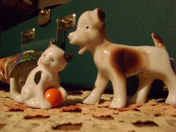 Bone China Cat and Dog