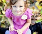 flower pattern tutorial - Sophia Lee Couture - flower bow headband - tutorial PDF pattern how to ebook