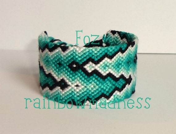 friendship bracelet wrist cuff