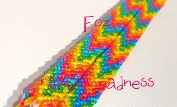 set of rainbow buddy bracelets