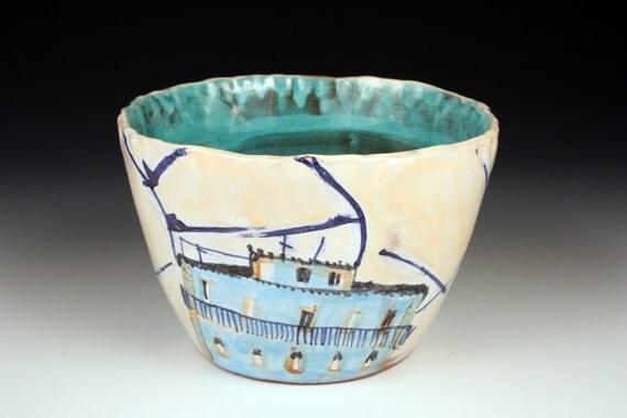 Lisbon Home Ceramic Bowl