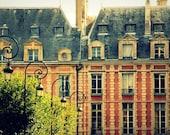 Paris Architecture At Place Des Vosges - Paris, France - Fine Art Travel Photography - 8x10 Print