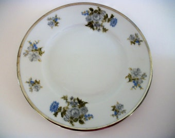 Vintage Bread And Butter Plate in the Romance pattern by Grace China Free Shipping