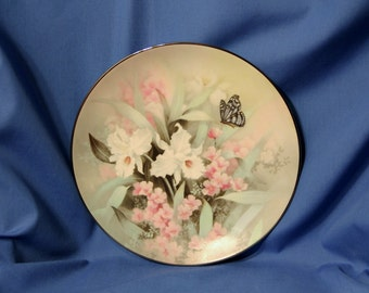 Vintage 1991 Knowles Collector Plate - Sapphire Wings