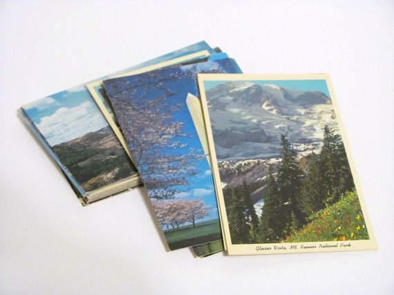 Vintage State Postcards Mixed lot of 60