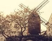 Moulin de la Galette - 8x8 Print - Photography of Paris, Paris Wall Art, Home Decor, Architecture, French Decor, Parisian Mood