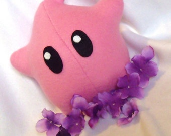 Pink Luma Plush - Super Mario Galaxy