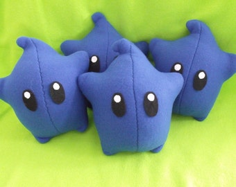 Royal Blue - Luma Plush - Super Mario Galaxy