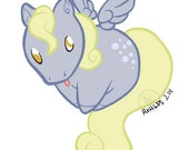 My Little Pony FiM DERPY HOOVES waterproof sticker