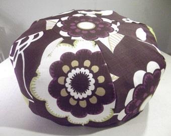 Ottoman pouf purple Arabella