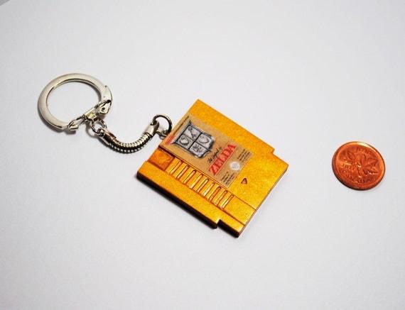 NES  Nintendo Cartridge, CHOOSE any game  - KEYCHAIN -