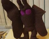 Mothman Plush - Brown and Purple