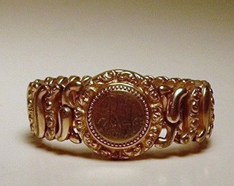 Pitman & Keeler Sweetheart Bracelet, stamped Pat. Nov 5, 1907