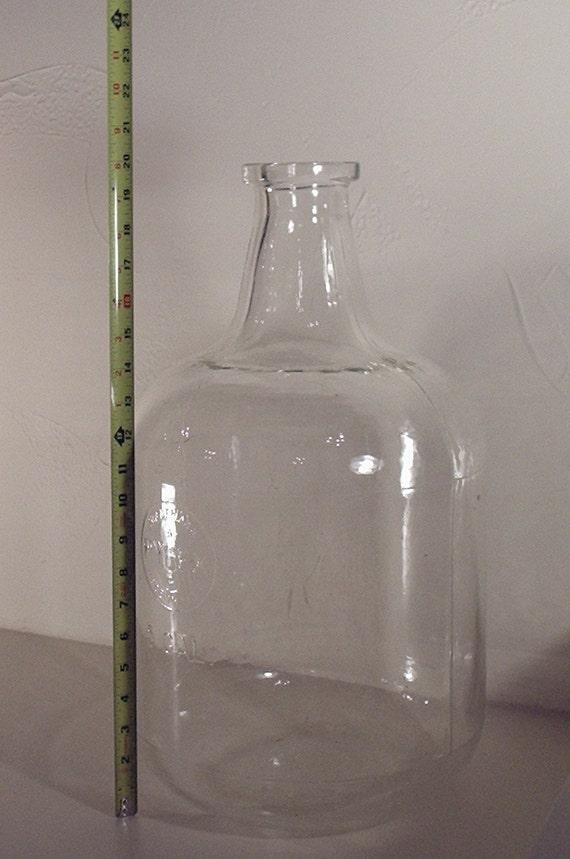 Pyrex 5 gallon glass jug, made in USA