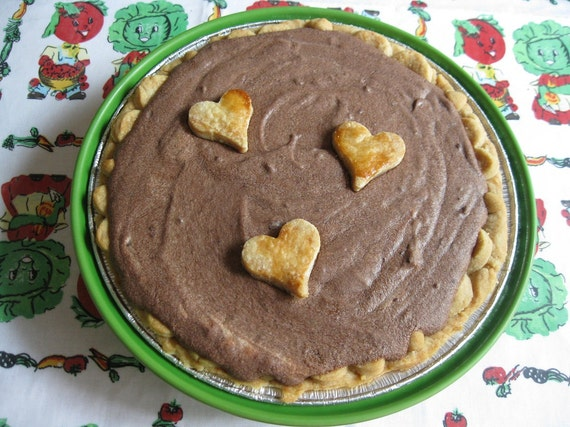 True Love Chocolate Mousse Pie