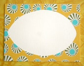 Sunburst Fabric  Notecards with Envelopes