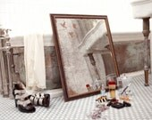 "Antique Reproduction Mirror - ""Flown"""