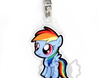 Rainbow Dash Chibi Badge
