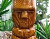 Ceramic Tiki Toothpick or Cocktail Stirrer Holder / Shot Glass / Small Cup