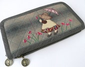 Lady Clutch Wallet ready to be shipped... Save 30% off In-Stock items from November 1st 2012 to January 1 2013