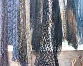 Used Fish Nets, Misc. Colors and Sizes, 10 lb. box