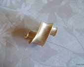 Napier Gold Art Deco Brooch