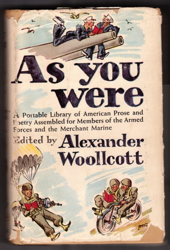 As You Were by Alexander Woollcott, January 1944: Fifth Edition
